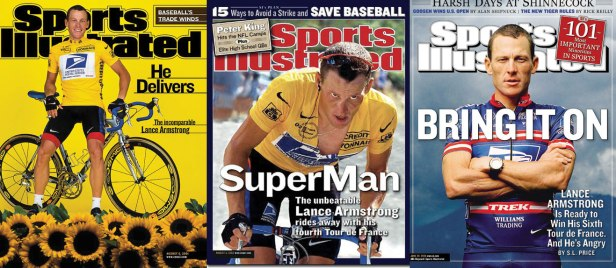 Lance Armstrong Covers, 2001, 2002, 2004